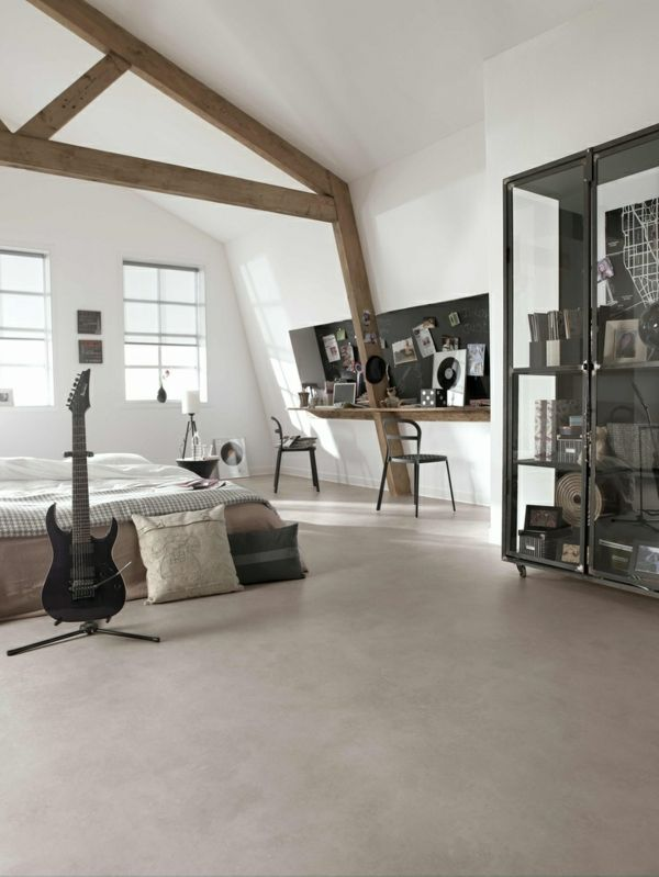 Poser du lino dans votre demeure, idées en photos! Lofts