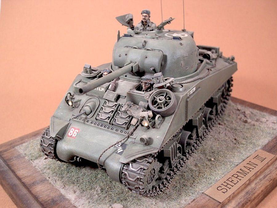 Sherman III, 1944
