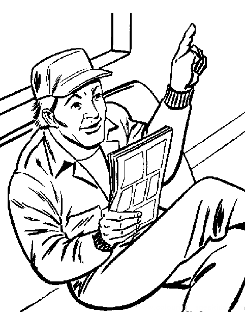 A Team Sat Reading The Newspaper Coloring Pages For Kids Bfe Printable A Team Coloring Pages For Kids