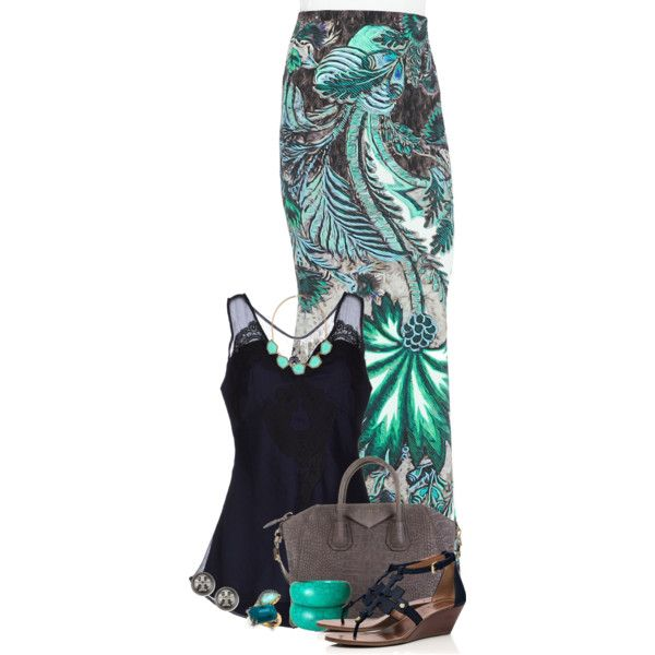 Untitled #2035 by jay-to-the-kay on Polyvore featuring polyvore, fashion, style, Twin-Set, Roberto Cavalli, Tory Burch, Givenchy, Alexis Bittar and Accessorize