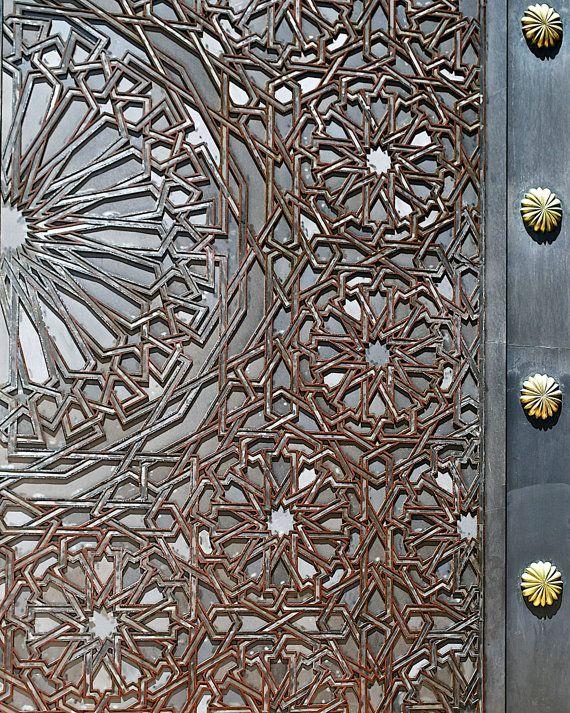 The Door to the Mosque Casablanca Morocco