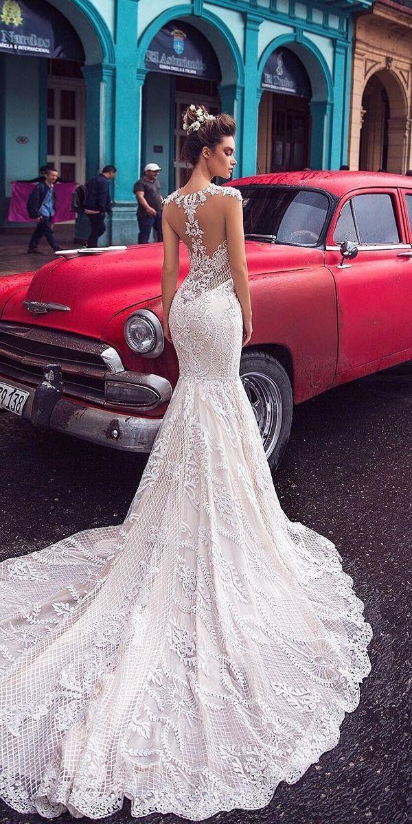 Photo of 30 Mermaid Wedding Dresses For Wedding Party ❤️ mermaid wedding dresses tatt…