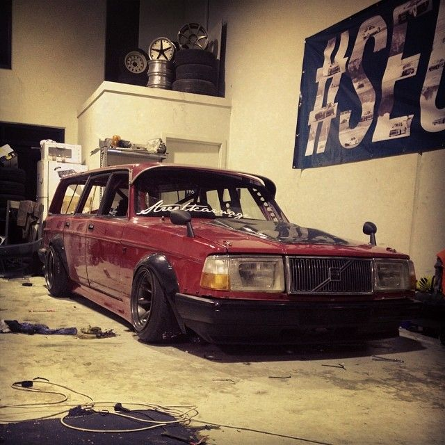Volvo 240 Engine Mods: Introducing: The Least Stanced Car On Stanceworks!