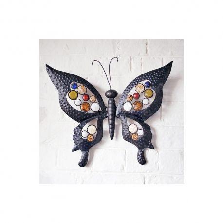 Charmant Metal Butterfly Garden Wall Art For Garden Home #garden #butterfly