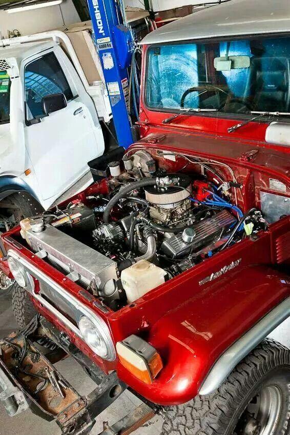 Fj40 Engine Toyota Fj40 Land Cruiser Toyota Lc