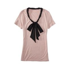 jason wu for target- short sleeve w/ tie in blush