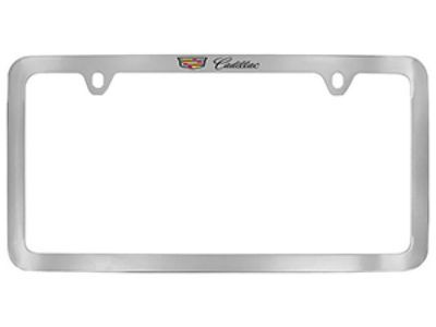 Cadillac ATS License Plate Frame - Cadillac Top Crest an 19368087 ...
