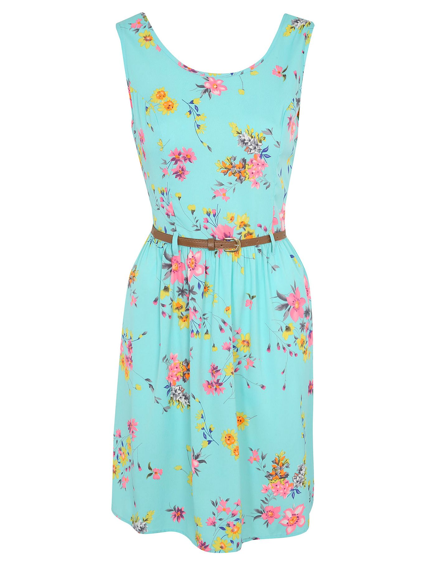 Belted Floral Dress | Women | George at ASDA | Clothes | Pinterest ...