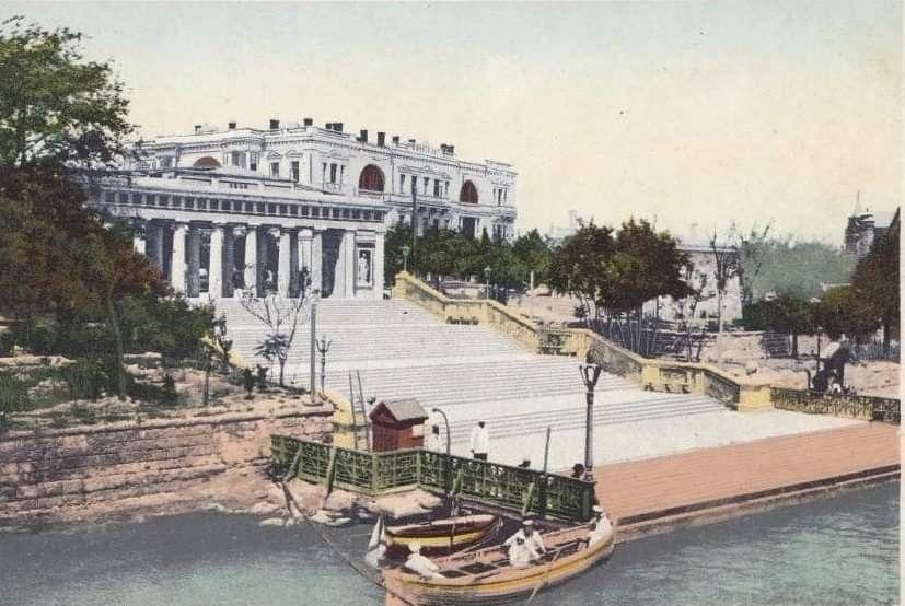 Графская пристань. СЕВАСТОПОЛЬ.   Canal, Structures