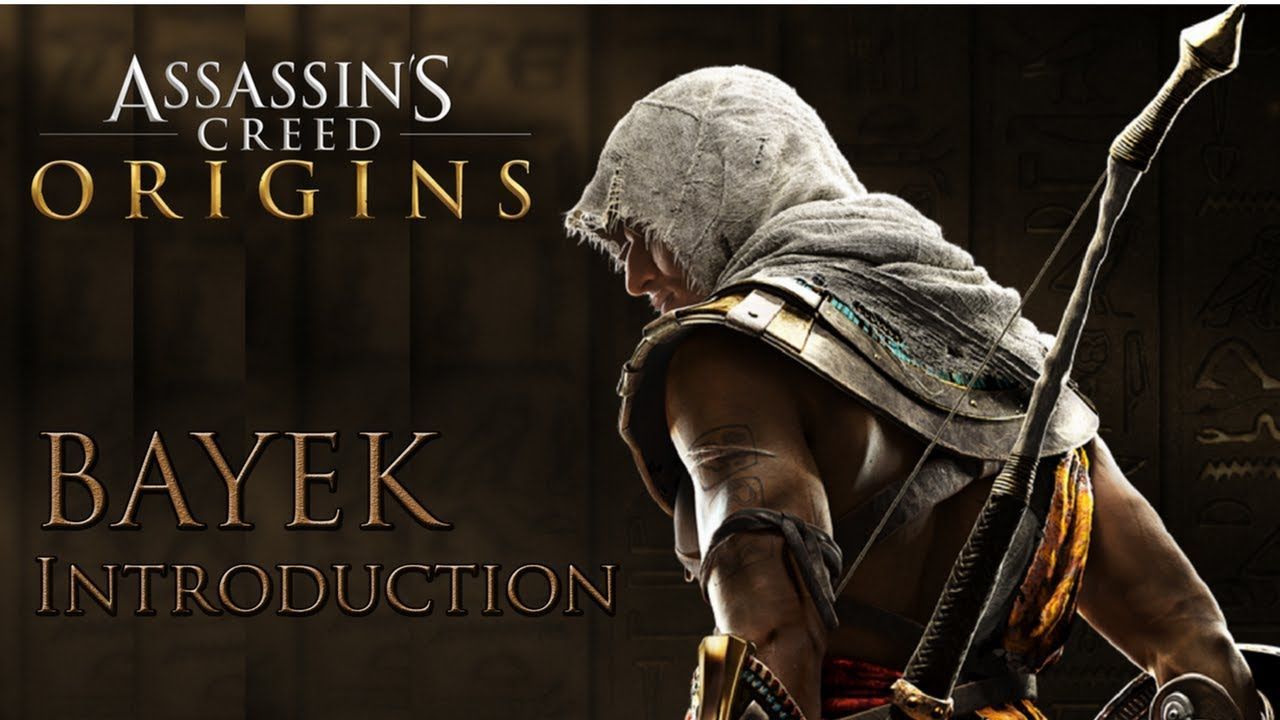 Assassin S Creed Origins Introduction To Bayek Face Reveal