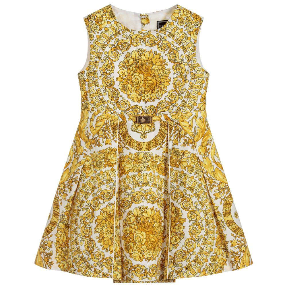 a8df5fe0064c Young Versace - Gold BAROQUE Dress