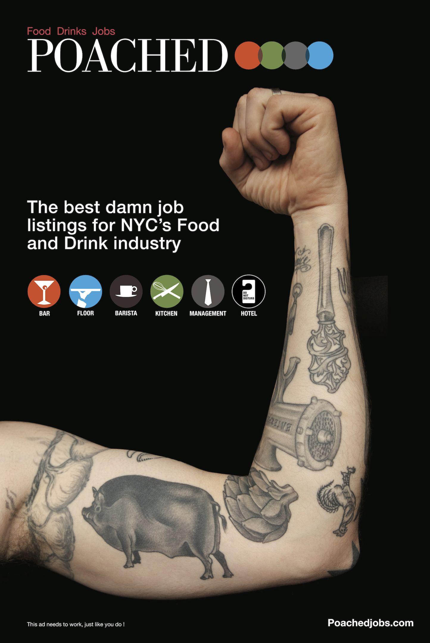 Chris Dangtran- Poached advertising NYC poster ...