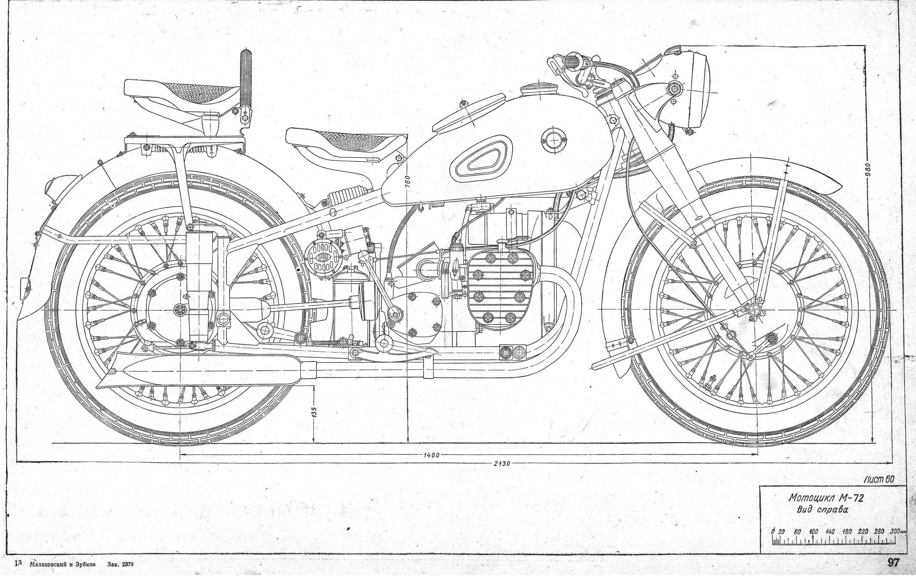 Dnepr m 72 blueprint ural moto pinterest dnepr m 72 blueprint malvernweather Images