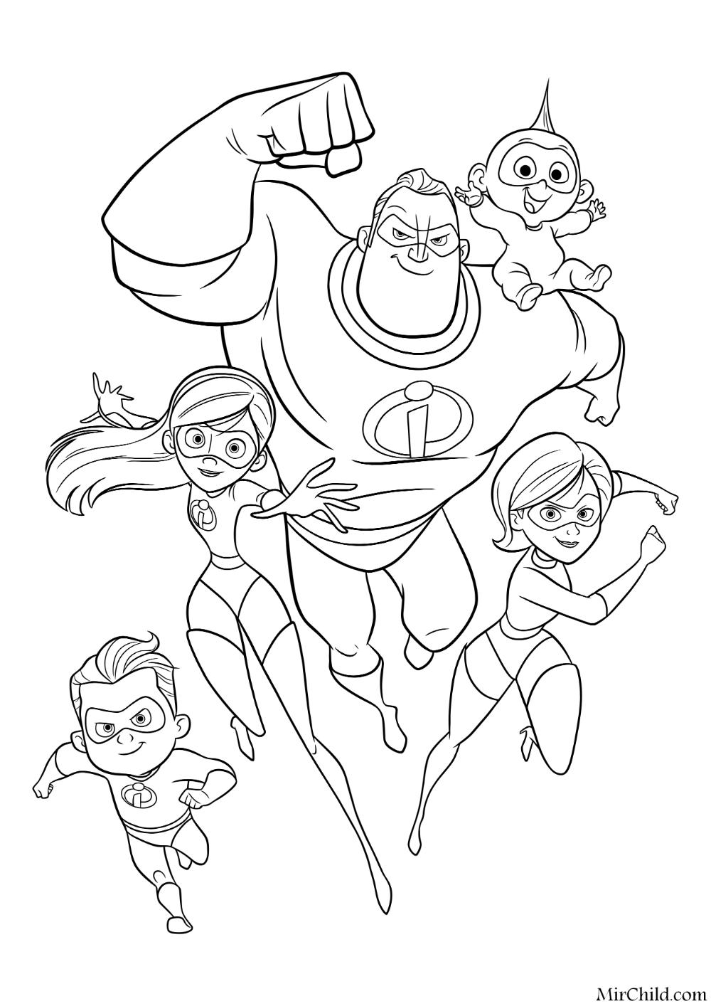 Supersemejka Raskraska Poisk V Google Disney Character Drawings Family Coloring Pages Disney Coloring Pages