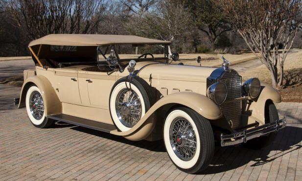 1929 Packard Dual Cowl Phaeton Packard Motor Car Company Detroit