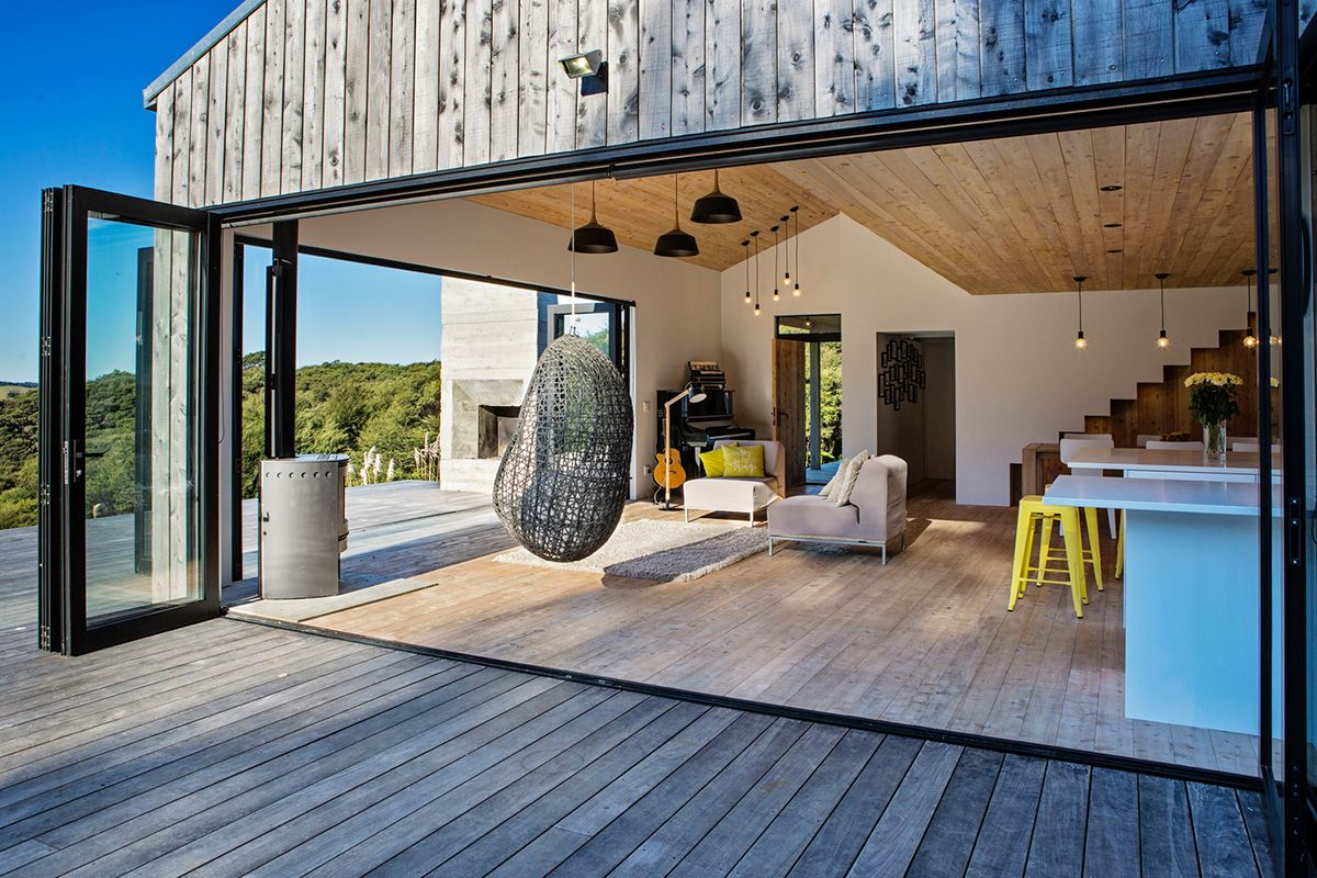 This rural shack in new zealand gives new meaning to - Architect designed modular homes nz ...