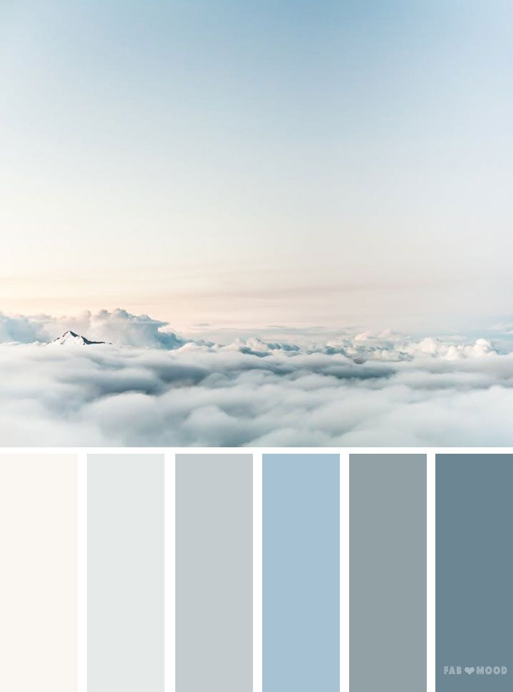 color palettes inspired by sky color palettes pinterest