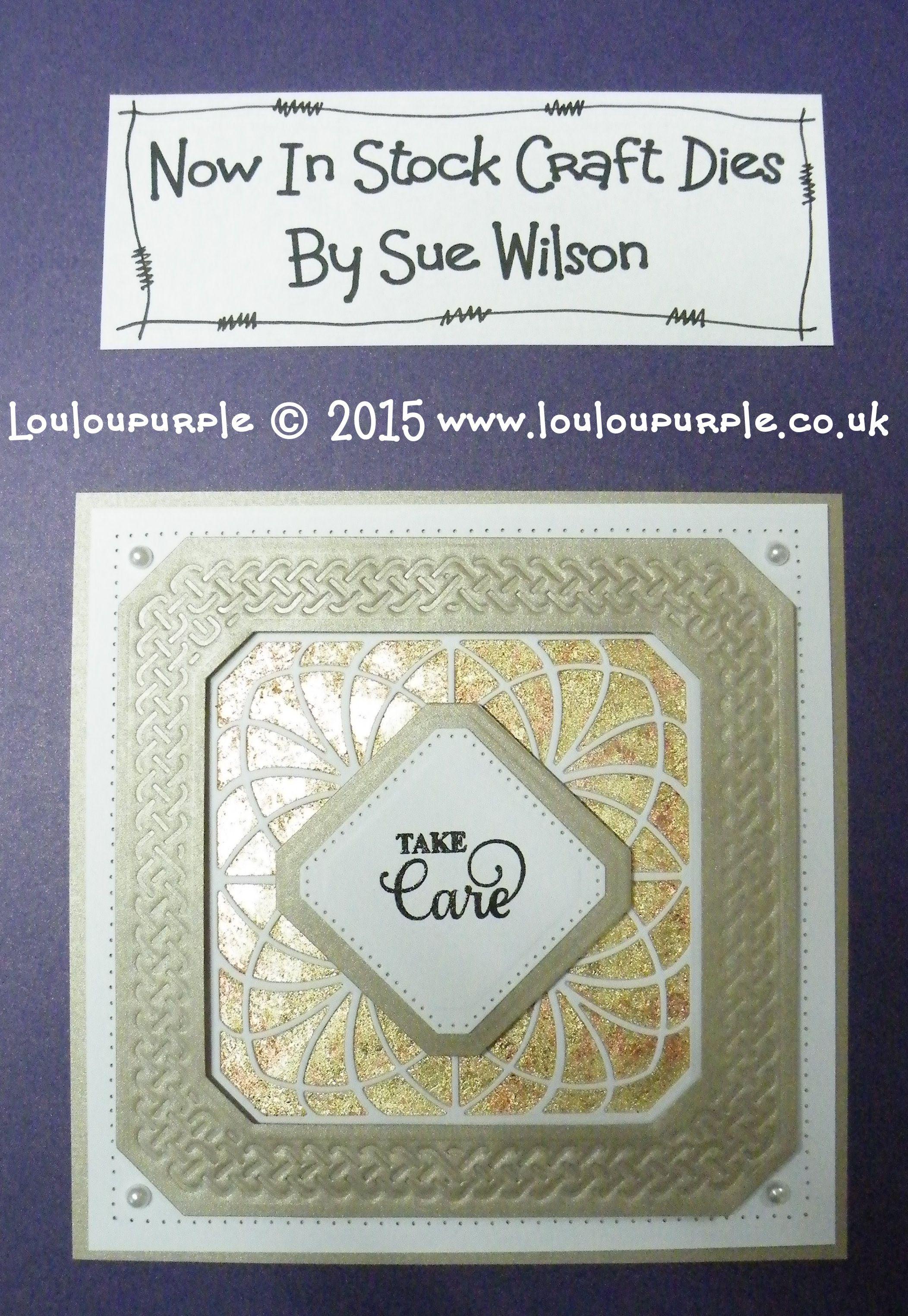 Craft Die CED7106 Sue Wilson Background Collection Swirly Vine