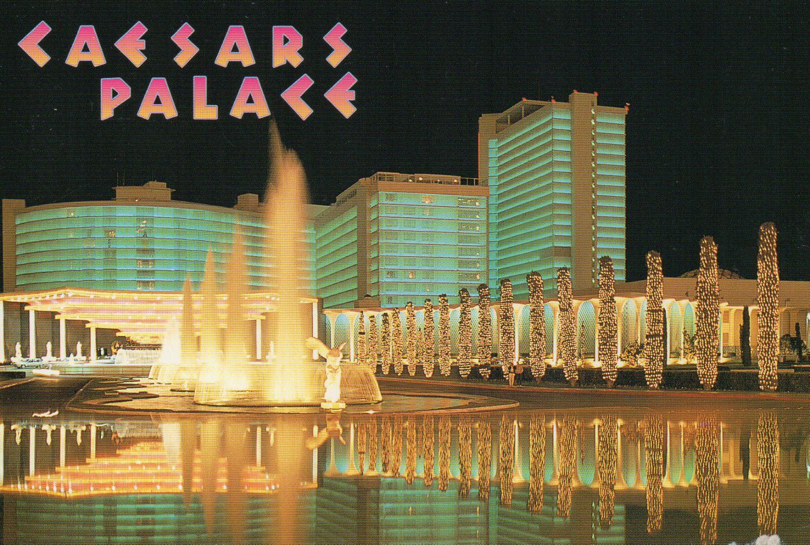 Nevada Las Vegas Caesars Palace Hotel and Casino The Strip --- Postcard