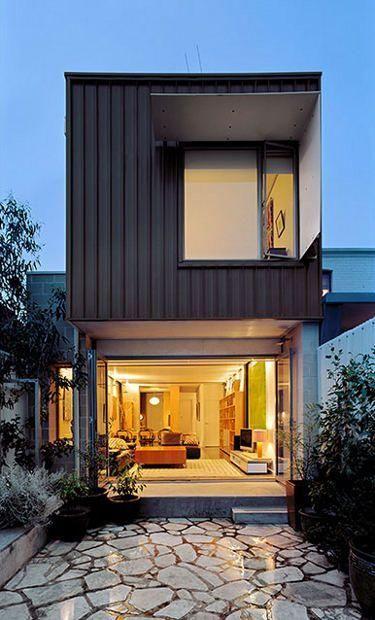 Casas feitas com containers pinterest for Casas de container modernas