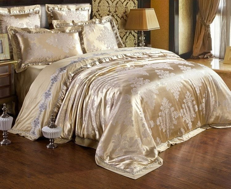 Made With A Blend Of Luxury Silk And Cotton Materials To Complement An  Elegant, Majestic Bedroom Theme.   Unlike Other Types Of Bedding Material,  ...
