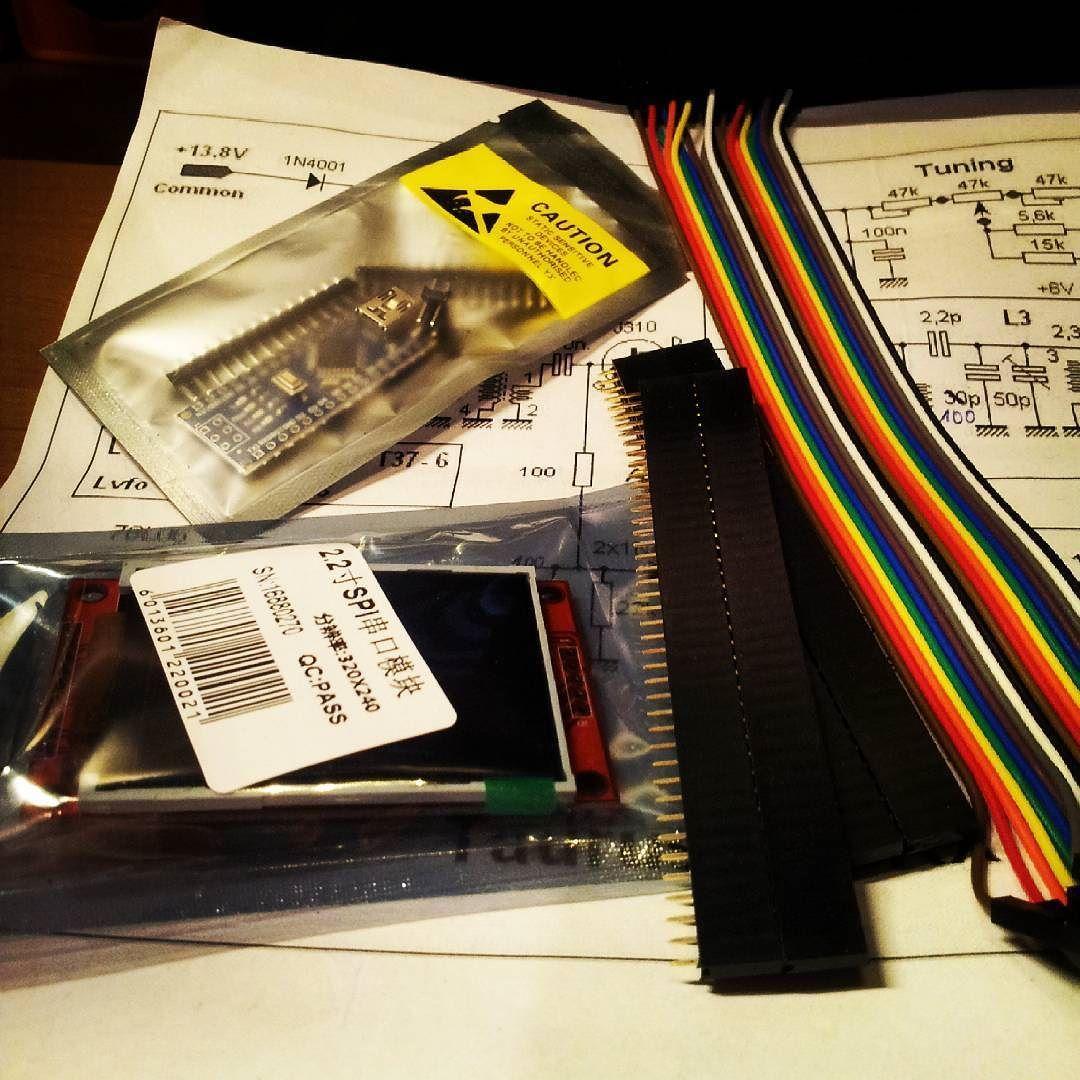 nowezabawki #elektronika #vna #arduino #tft #newtoy