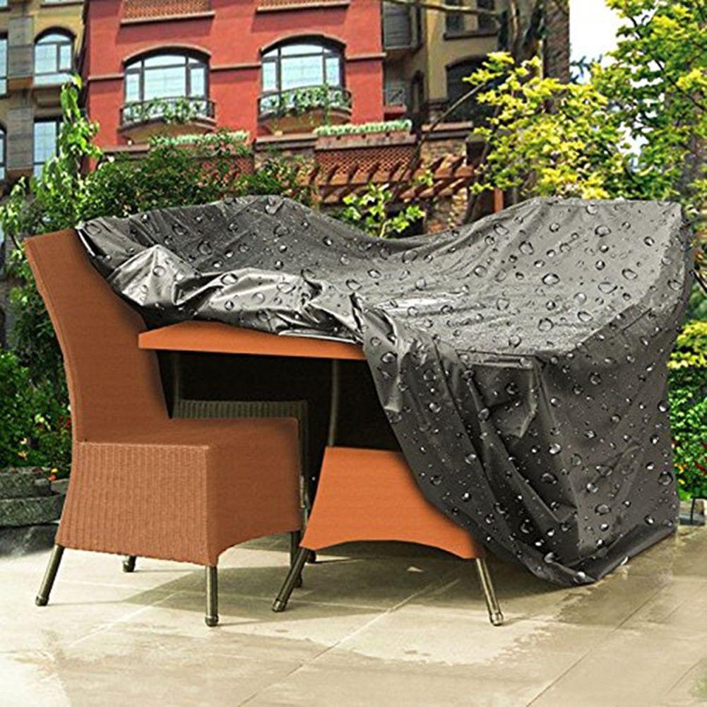 UK Heavy Duty Waterproof Rattan Cube Outdoor Garden Furniture Dust UV Rain Cover