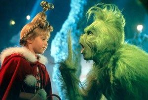 1-Great Christmas movie                    2-Reminds me of someone I know!!! hahaha