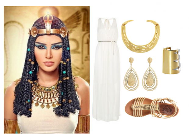 Frugal Fashionista 5 Simple Diy Costumes Goddess Costume Diy Cleopatra Costume Diy Easy Costumes