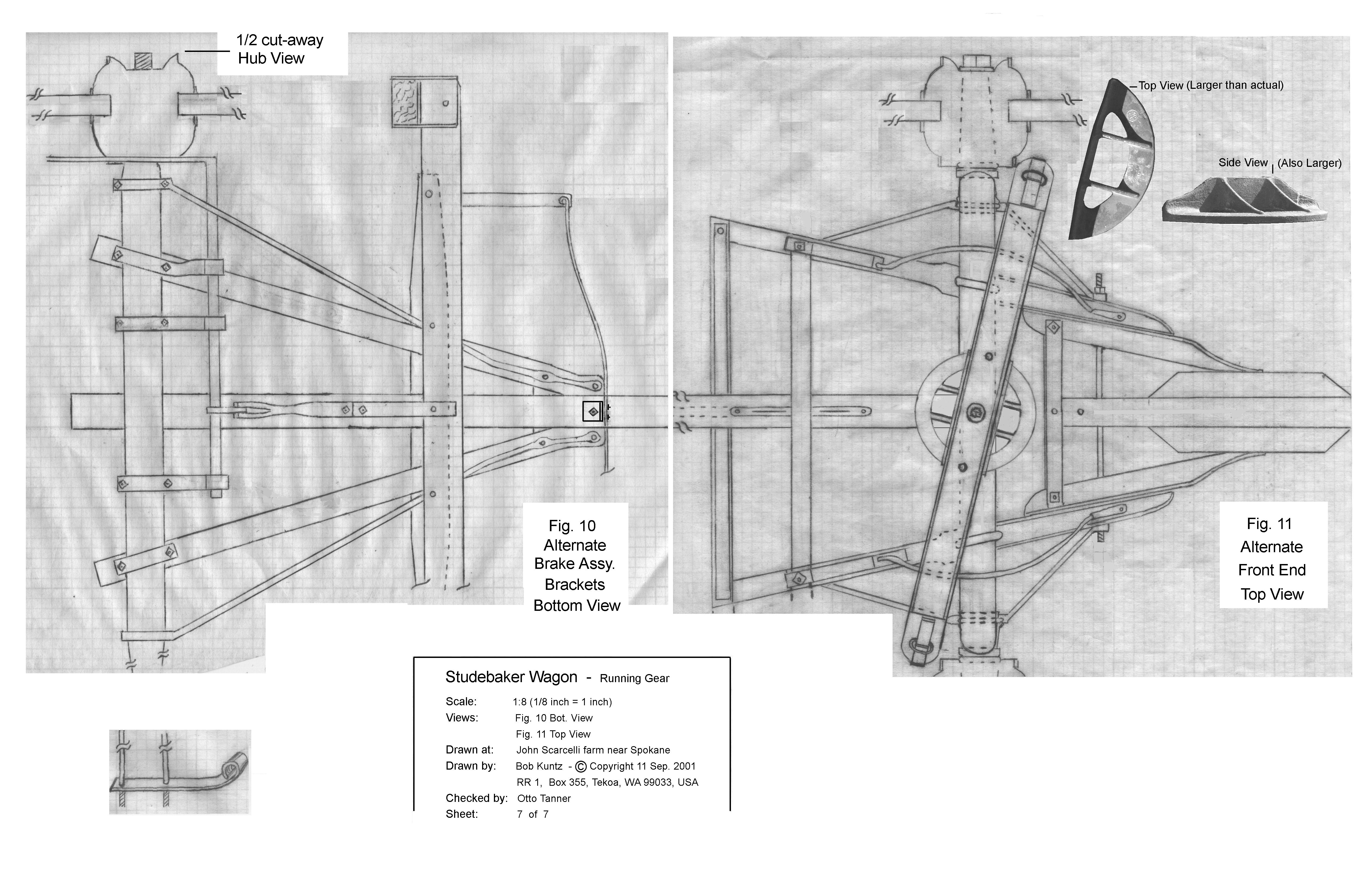 Studebaker Wagon Plans Sheet 7 Oh Pioneer Pinterest Trail Wiring Schematic Blueprint Drawing