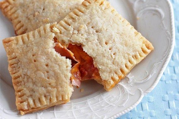 Homemade Ham and Cheese Pop Tarts