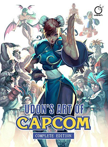 UDON's Art of Capcom: Complete Edition by Alvin Lee | Christmas