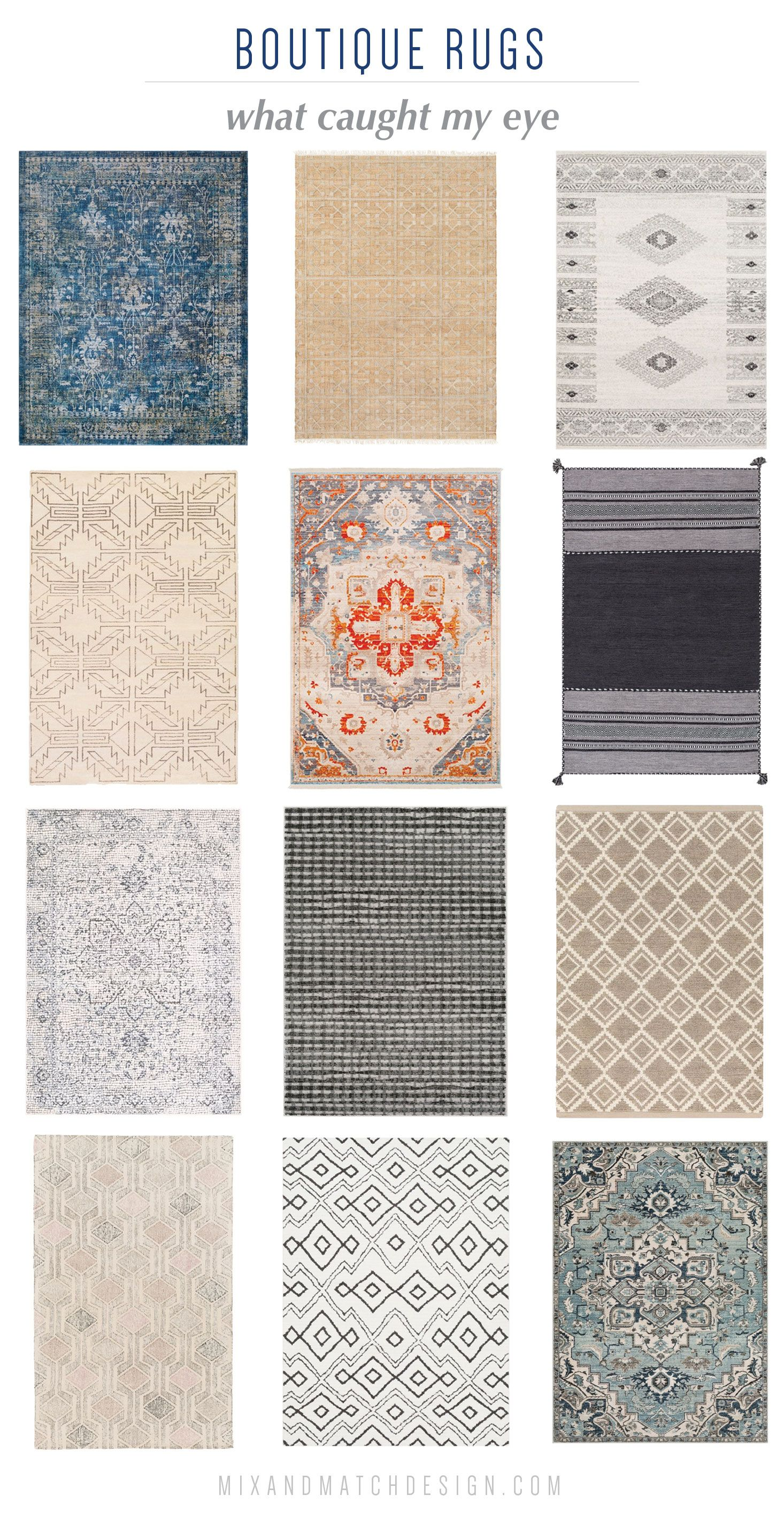 I Love A Good Rug It Can Be The Finishing Touch On A Room On The Blog I M Sharing A Roundup Of Favorites From Bouti Cool Rugs Baby Nursery Inspiration