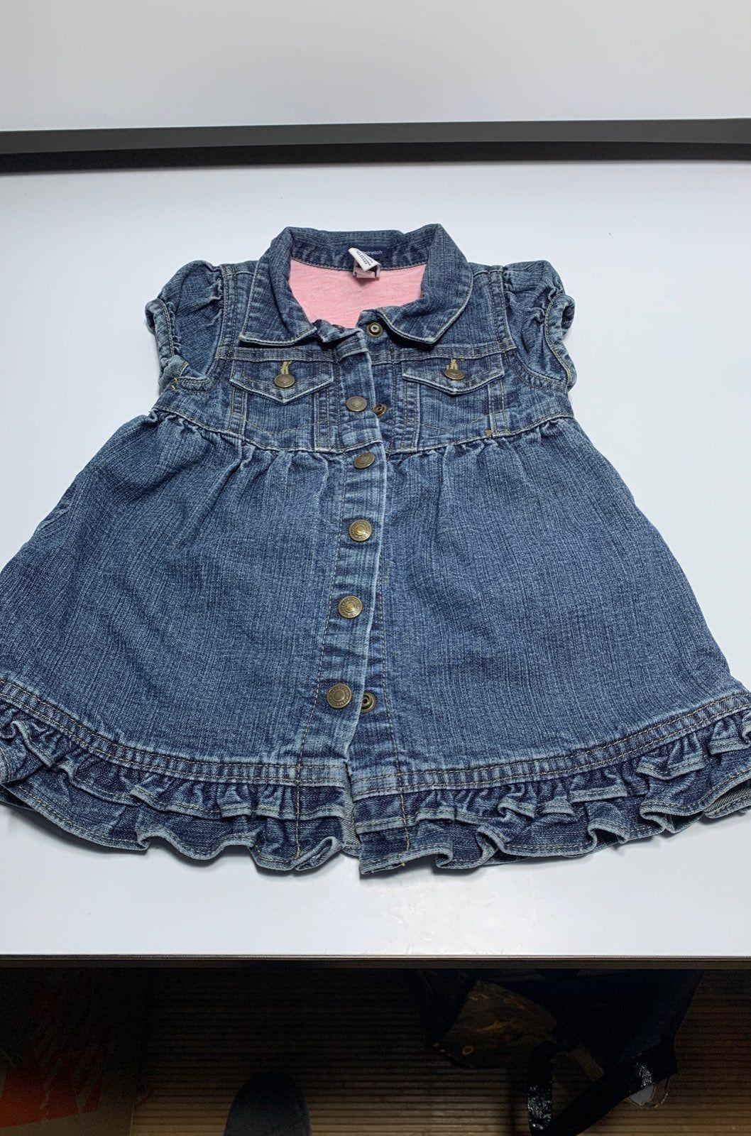 Too Good Not To Share Baby Gap Ruffle Denim Dress 2pc 6 12 Denim Ruffle Dress Denim Dress Dresses Kids Girl [ 1600 x 1058 Pixel ]