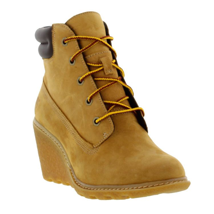 489fe2a2e0f Timberland Earthkeeper Amston 6 Inch Boot Womens Wedge Shoes Sizes UK 4 - 8