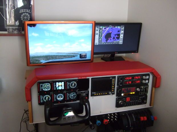 Diy flight simulator cockpit pinterest woodworking