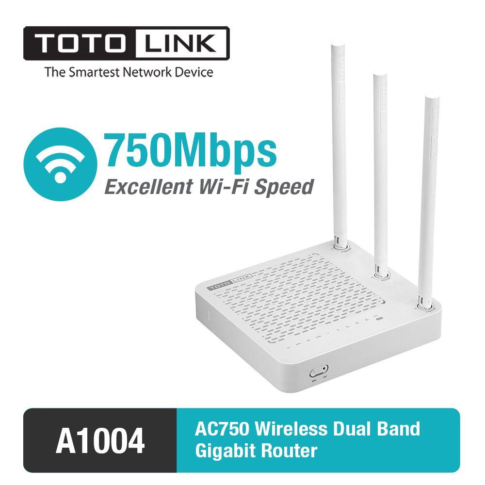 TOTOLINK A1004 11AC 750 Мбит/с двухдиапазонный