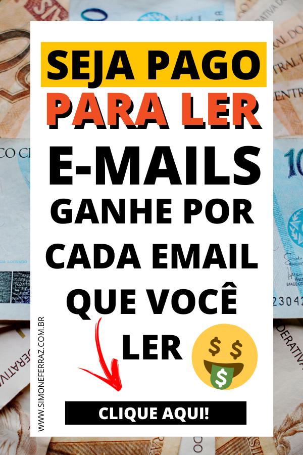 GANHE DINHEIRO LENDO E-MAILS| GANHAR DINHEIRO FÁCI...