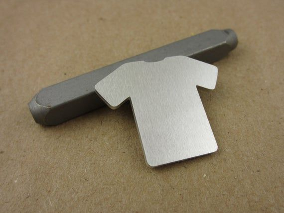 Clearance 1 1 4 X 1 T Shirt Shaped Aluminum Stamping Blanks 14 Ga Thick 1100 Aluminum 10 Pieces Shapes Things To Come Copper Sheets