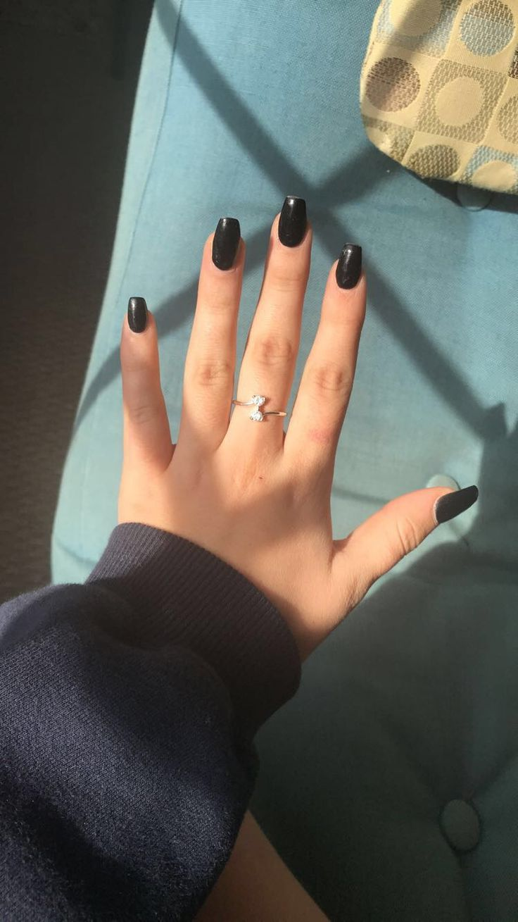 Coffinnails Square Acrylic Nails Acrylic Nails Coffin Short Squoval Nails