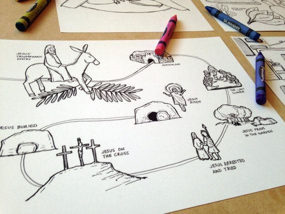 Download Coloring pages, prayer cards, guide for Lent/Easter. Just ...
