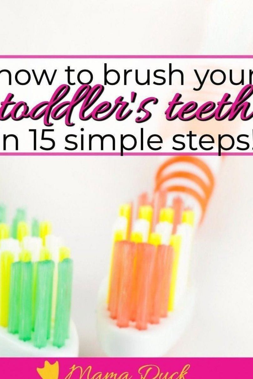 Toddler tooth brushing done right can save a family money