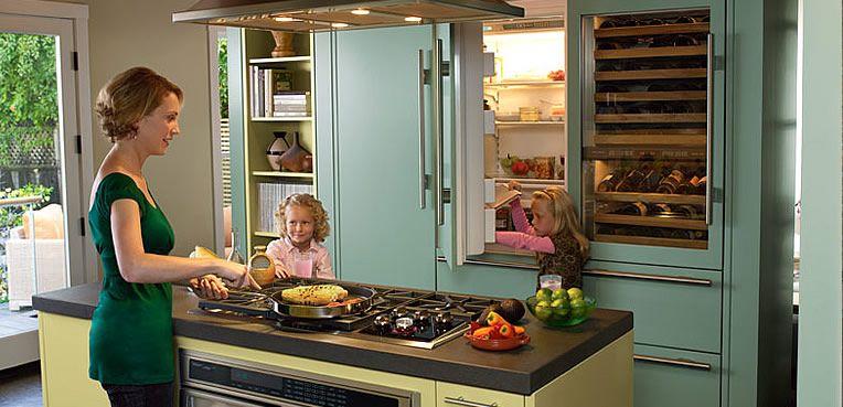 Colored Kitchen