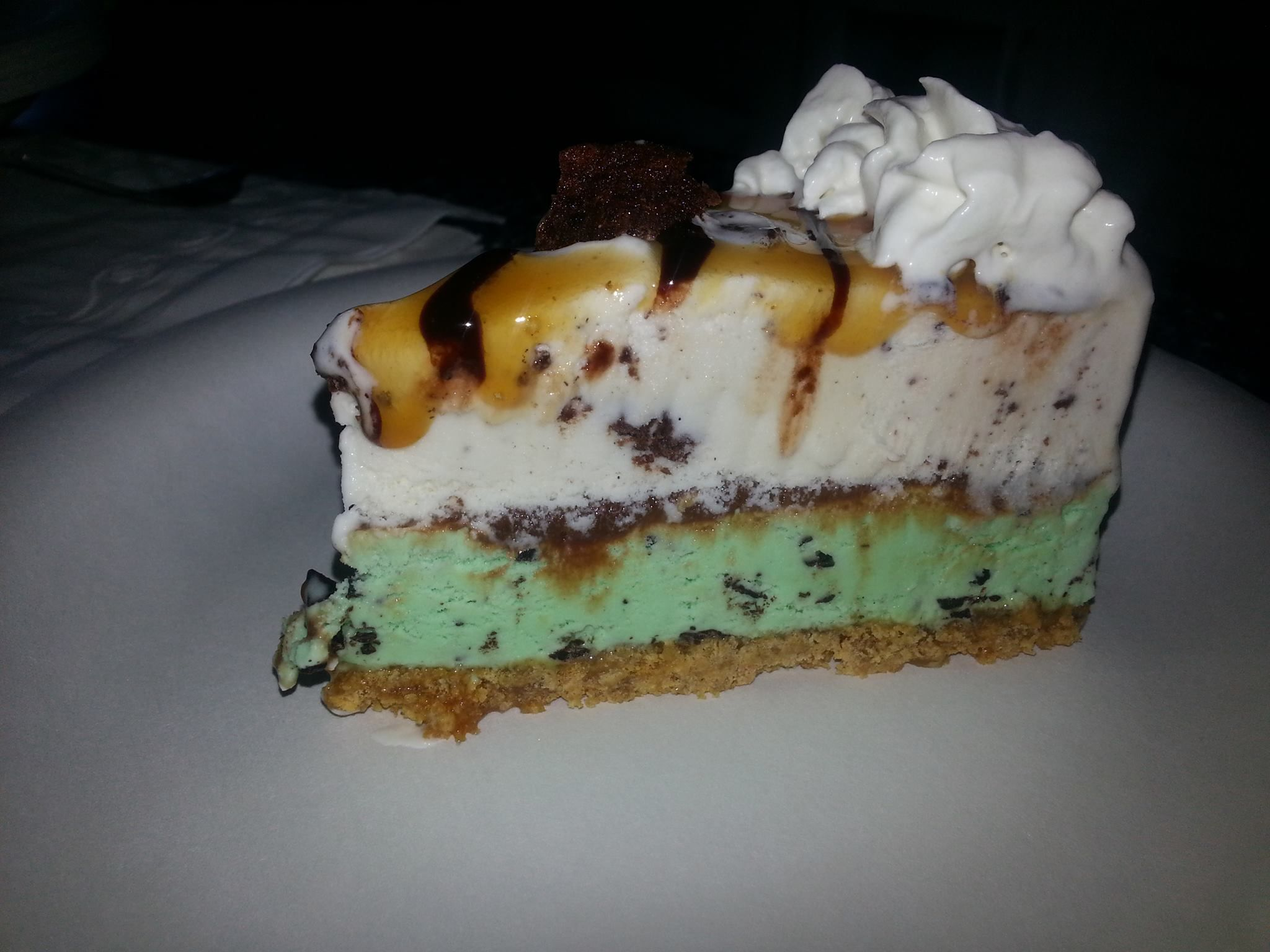 Mint+Chip+Brownie+Ice+Cream+Pie