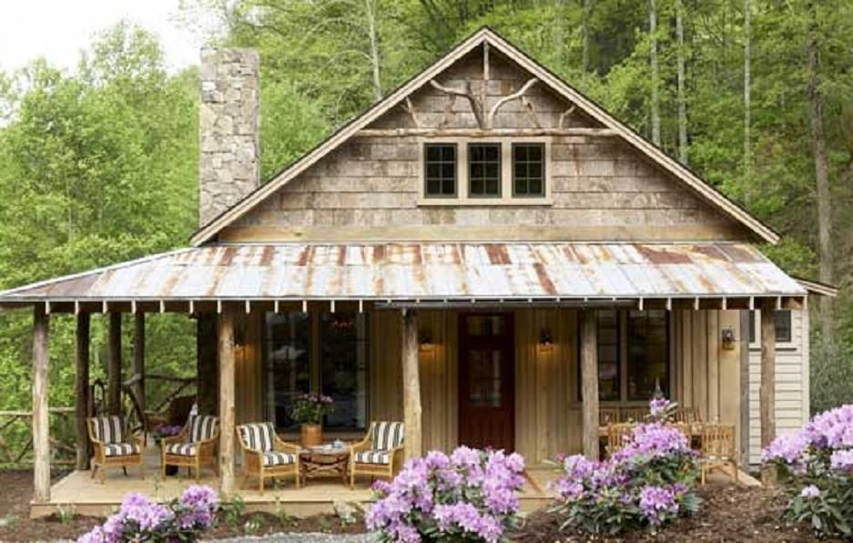 Whisper Creek Cabin 1555 Sq Ft Porch House Plans Southern Living House Plans Pretty House