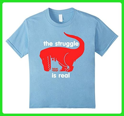 6e87e802 Kids T Rex The Struggle Is Real Bacon T Shirt Funny T Rex T Shirt 6 Baby  Blue - Funny shirts (*Amazon Partner-Link)