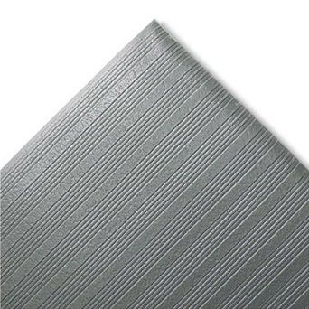 Amazon Com Crown Ribbed Antifatigue Mat Vinyl 27 X 36 Gray Fjs736gy Office Products Anti Fatigue Mat Area Rug Sizes Vinyl