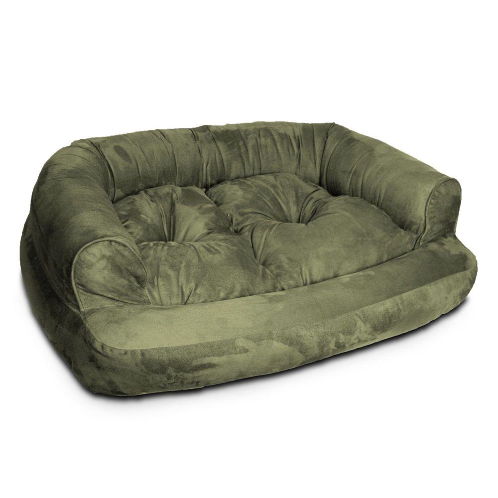 Snoozer® Overstuffed Luxury Sofa Pet Bed Luxury dog sofa