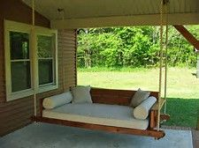 Image Result For Porch Swing Bed Plans Porch Beds Pinterest
