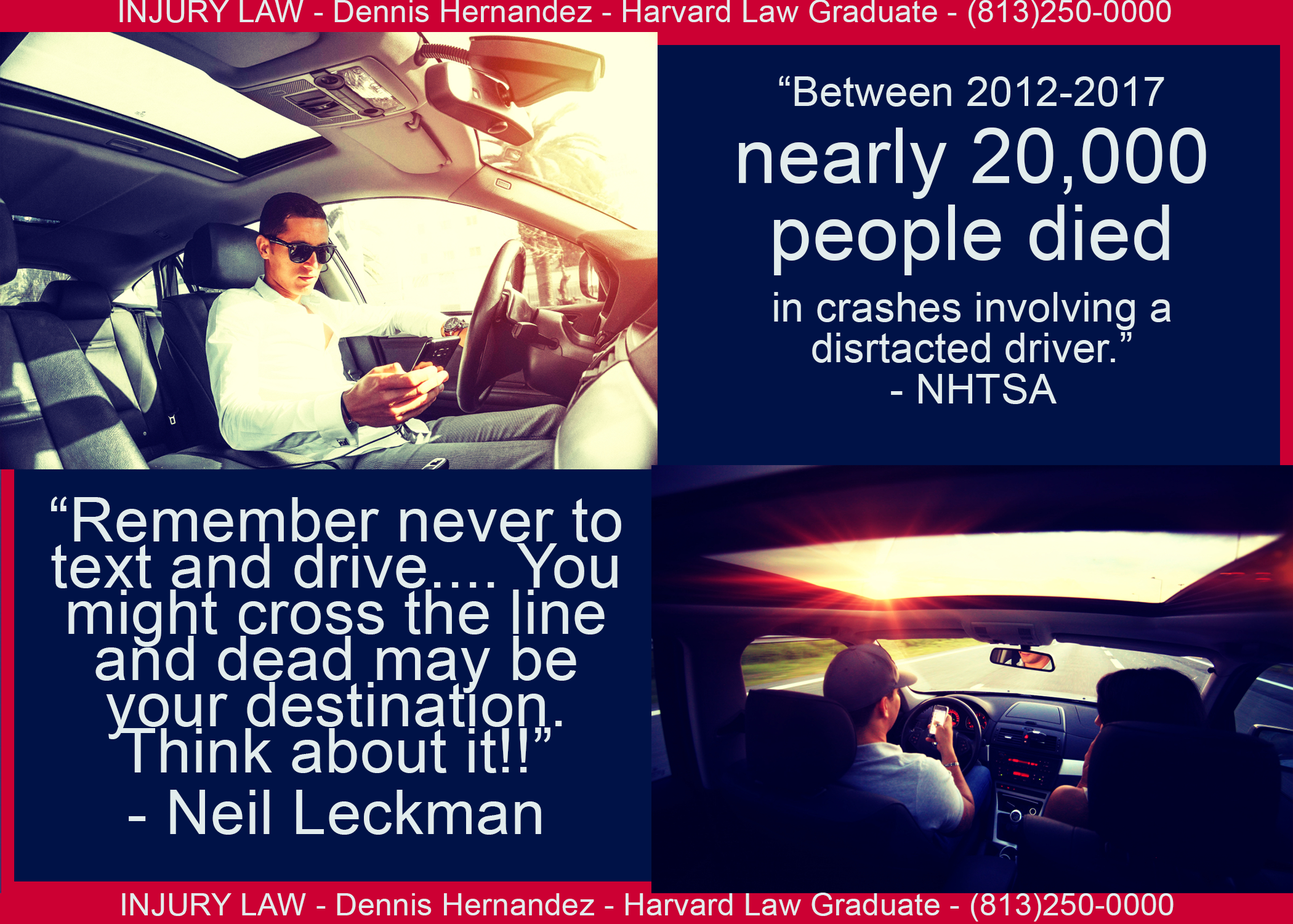 Per The Nhtsa Nearly 20 000 People Died In Caraccidents Between